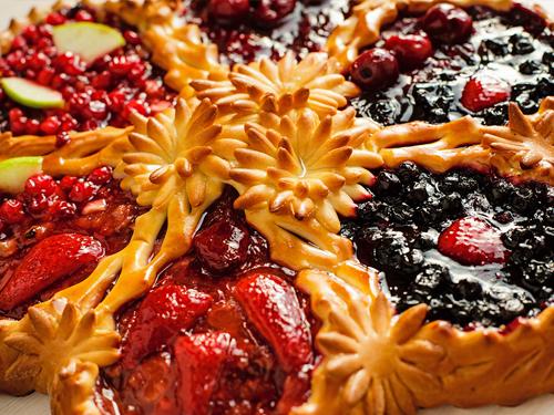 Bakery pie filling