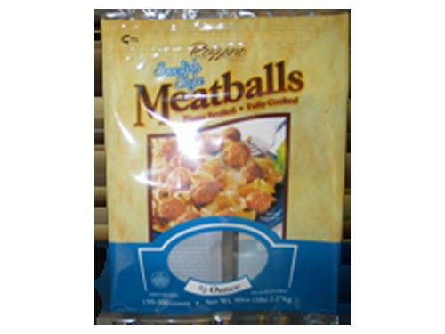 IQF meatballs