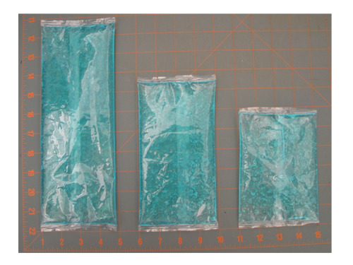 Liquid gel 3 sizes