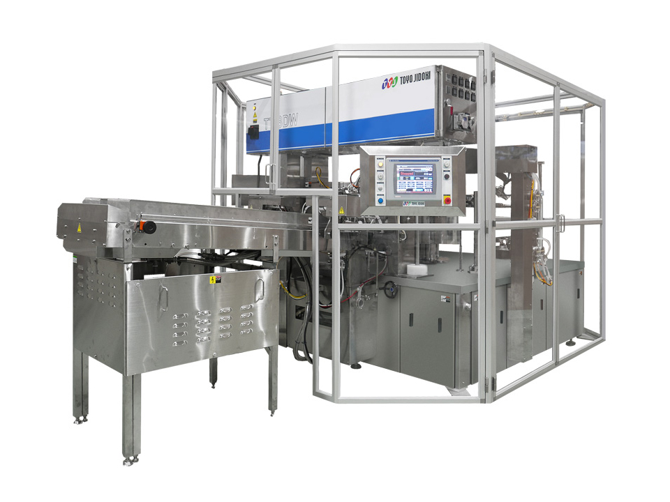 Pre-Made Pouch Twin Filler/Sealer - TT-8DW-N - Pre-Made Pouch Packaging Solutions