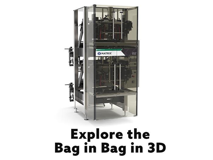Bag In Pillow Vertical Bagging Machinery Matrix