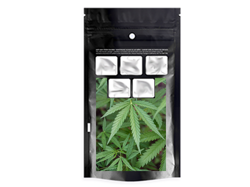 Cannabis premade pouch image
