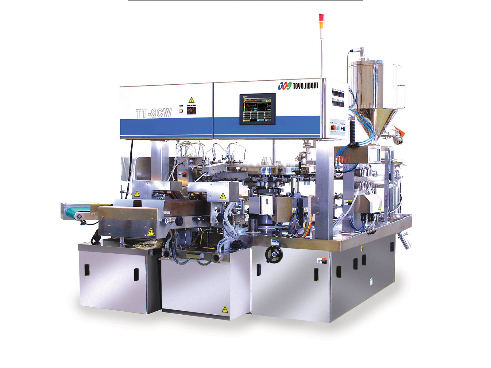 High Speed Pouch Filler Sealer Tt 9 Cw Shadow