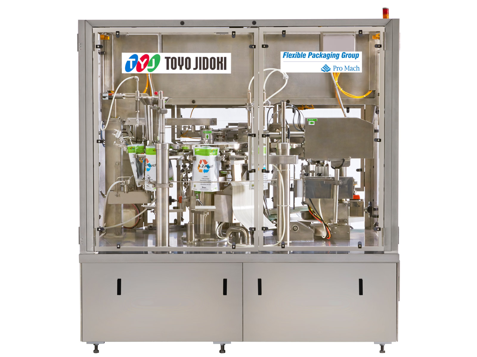 Toyo PreMade Pouch Filler - TT-8D-N - Pre-Made Pouch Packaging Solutions