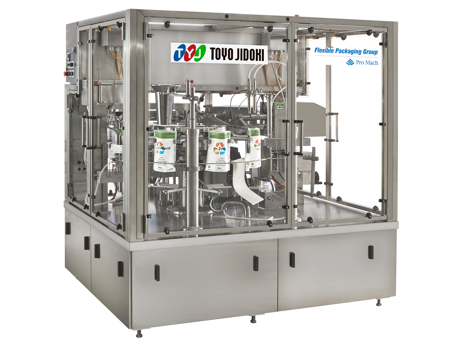 Toyo Pre Made Pouch Filler - TT-8D-R - Pre-Made Pouch Packaging Solutions